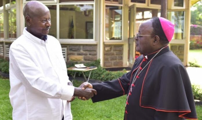 Museveni Late Archbishop Lwanga postmortem report