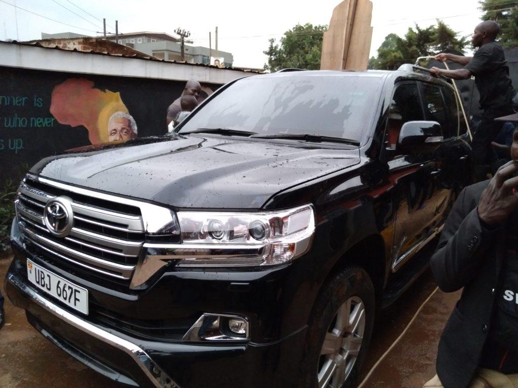 URA to Impound Bobi Wine's Armoured Car