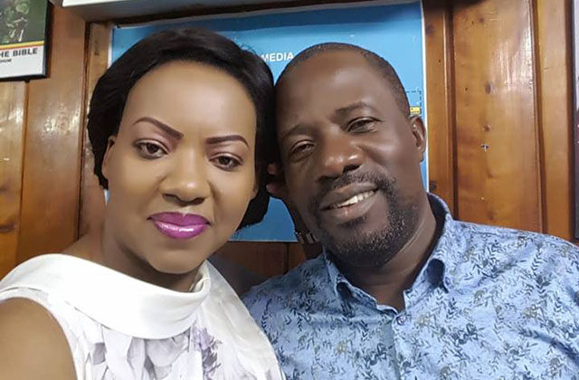 David Kiganda got married to Pastor Cindy