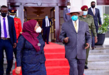 museveni Suluhu Sign Oil Pipeline Deal