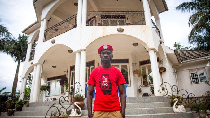 Bobi Wine responds to house eviction claims