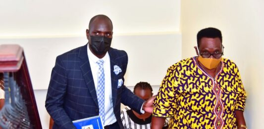 Museveni, First Lady Bid Farewell to Onyango (1)