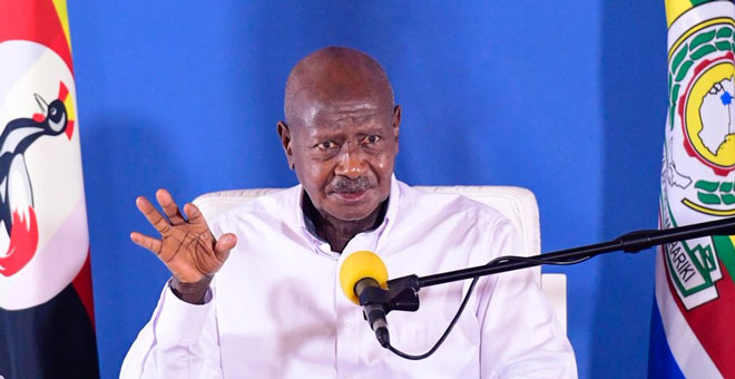 museveni Teachers Will Be Vaccinated Before Schools Reopen