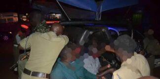 Police and Army Raid Lugazi Bars (1)