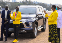 Museveni gifts Olympics medalists vehicles Peruth-Chemutai (1)