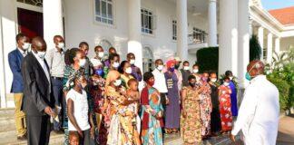 Museveni Masaka murder victims families (1)