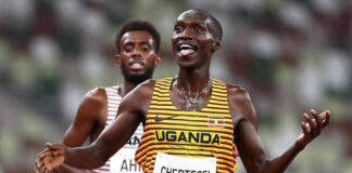 Cheptegei for the 2021 World Athlete of the Year award (1)