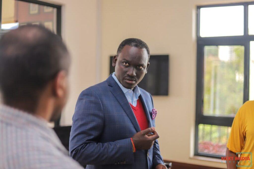 Kin-Kariisa CEO of Next Media Services