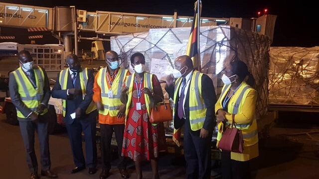 Uganda Receives 196,800 Doses of Johnson and Johnson Vaccine (1)