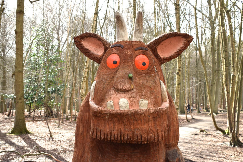 The Gruffalo Trail, Essex, The Gruffalo
