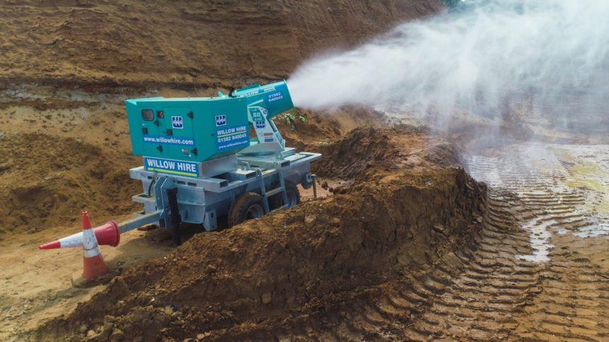 Tera 60 dust suppression unit
