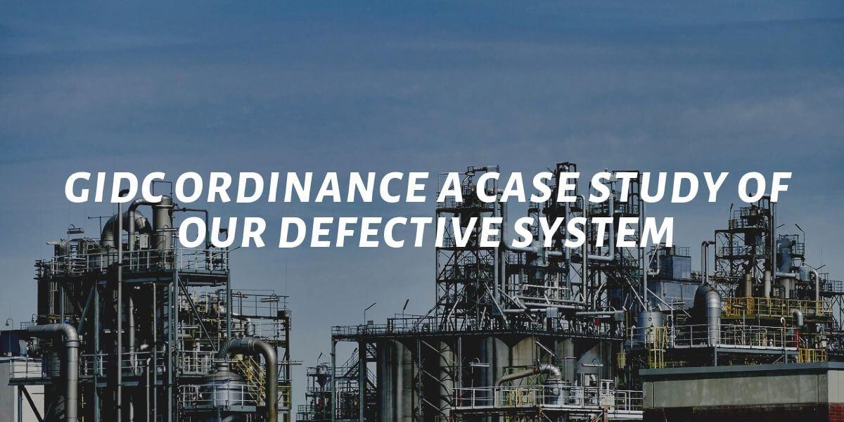 GIDC ordinance