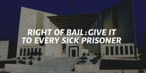 Right Of Bail: Give It To Every Sick Prisoner