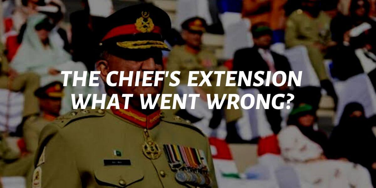 what went wrong with the chief's extension