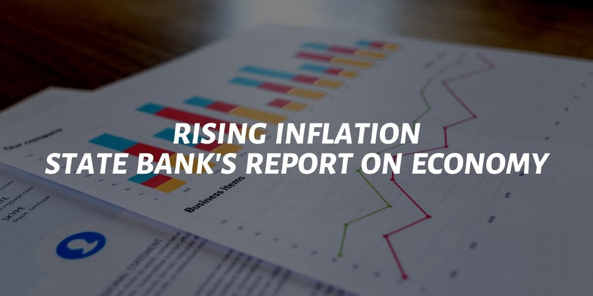rising inflation state bank report on economy