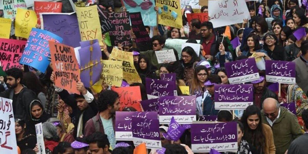 the women rights you only have in Pakistan