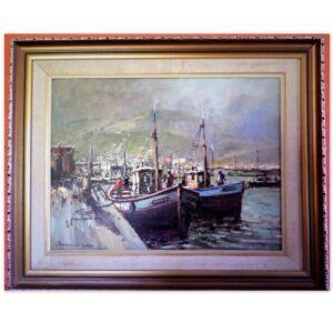 Christiaan Nice - Harbour Scene