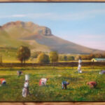S5050 Free State scene Oil on Canvas Anthony Walton 50cm x 40cm