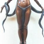 S2172 Ayesha 3/15 Sculpture Tienie Pritchard 72cmx43cm