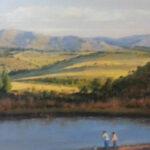 S1454 Machadadorp Oil on Canvas 60cm x90cm