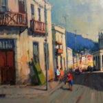S2962 District Six Oil on Canvas 45cm x 60cm