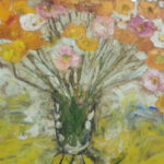 S2982 Poppies Oil on Canvas 75cm x 75cm