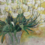 S2984 Tulips Oil on Canvas 76cm x 76cm