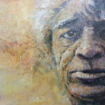 S3031 Face Study Oil on Board Kobus Moller 60cm x 39cm 16,500.00