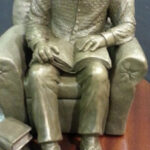S3043 Seated Mandela, Sculpture, Jackie Noakes