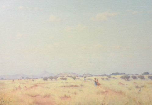S3063 Landscape Oil on Board W.H.Coetzer 60cm x 90cm 75,000.00