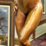 3107 Standing Nude 4/15 Bronze Sculpture Brandon Borgelt, R75,000.00
