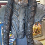 S3108 Sitting Bull Bronze Sculpture Brandon Borgelt, R145,000.00