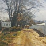 S3231 Cape Farm scene, Oil on Board, 60cm x 90cm,