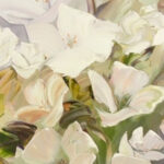 S3387, Flowers 00730, Oil on Canvas, Royalene Griffiths 65cm x 55cm