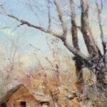 S3595 Cottage Oil on Canvas Errol Boyley 50cmx38cm