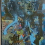 S5070S5070 Catharsis Oil on Canvas G Vd Westhuizen 90cm x 150cm