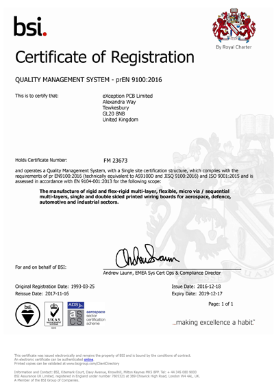 9100 certificate
