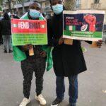 #ENDSARS In Paris today2