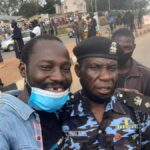 Obinna Simeon the policeman that protected protesters during the Jos protests. Igbo Kwenu