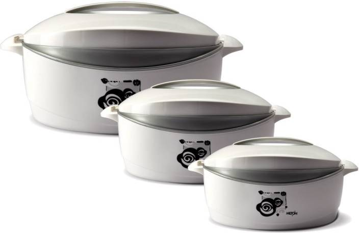 Milton Desire Gift Set Pack of 3 Casserole Set (500 ml, 1000 ml, 1500 ml) at Rs.499 only