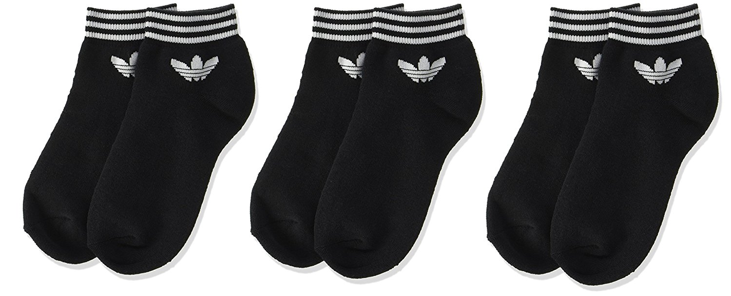Adidas Men's Liners & Ankle Socks (Pack of 3) at Rs.249 only