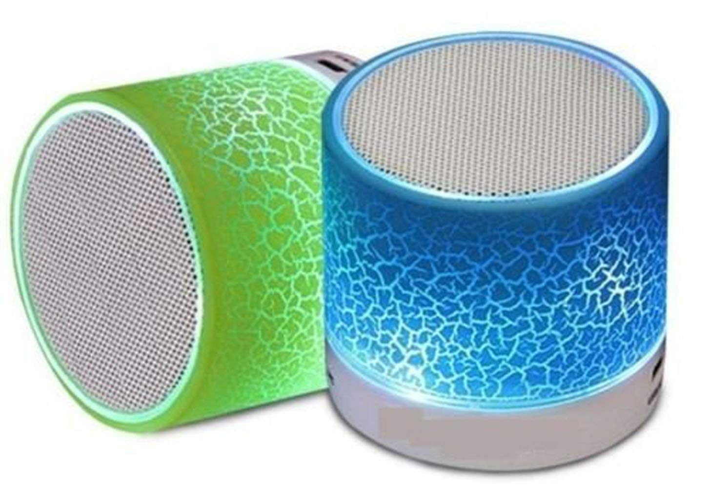 Wireless LED Bluetooth Speakers & FM Radio for All Android & iPhone Smartphones at Rs.219 only