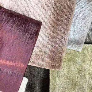 Indo-Tibetan rug in viscose