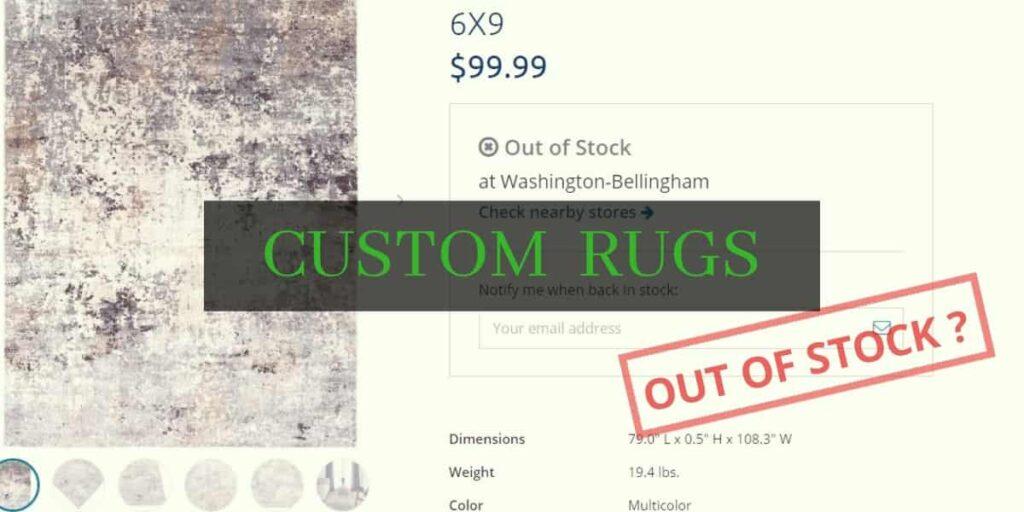 custom design rugs