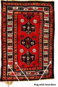 rug with borders
