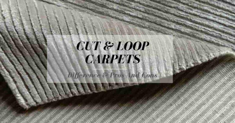 cut pile carpet vs loop