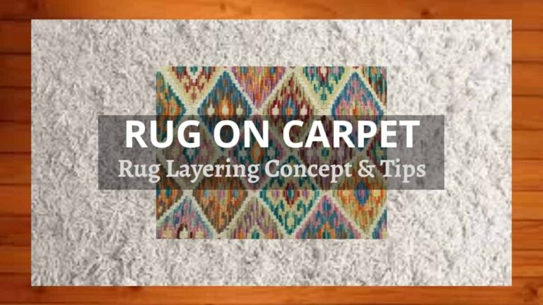 Can You Put A Rug On Carpet