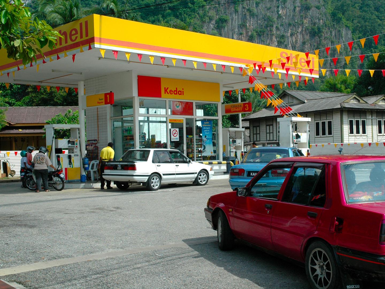 SHELL PETRO STATION-Baling