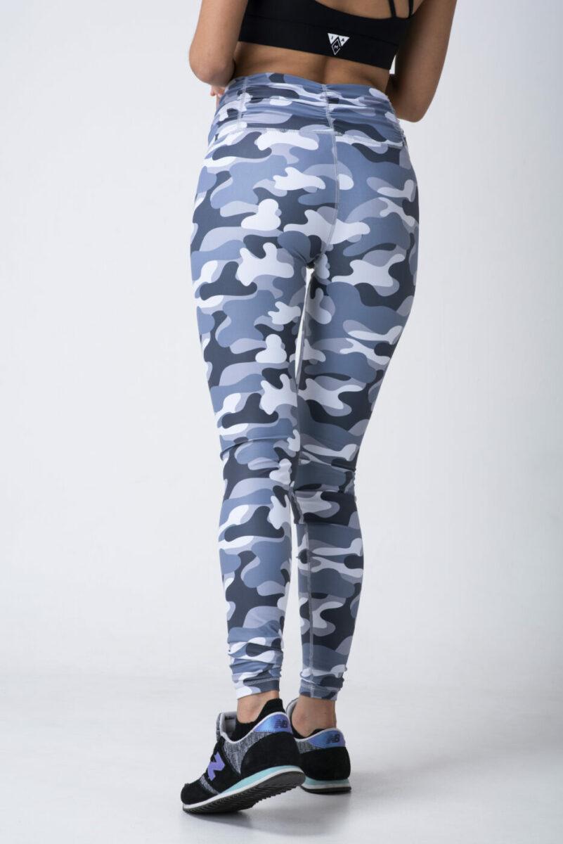 camo women's training tights