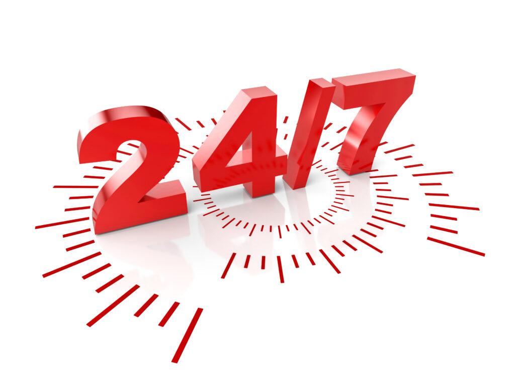 24 locksmith hours service